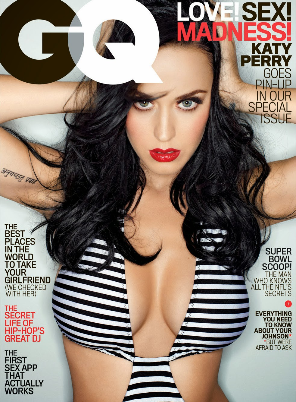 Katy perry hot gq