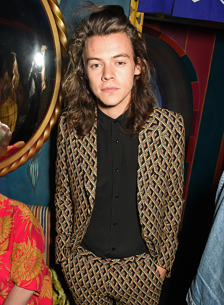 attends the Love Magazine miu miu London Fashion Week party at Loulou's on September 21, 2015 in London, England.