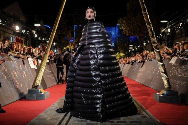 Ezra Miller Fantastic Beasts Premiere