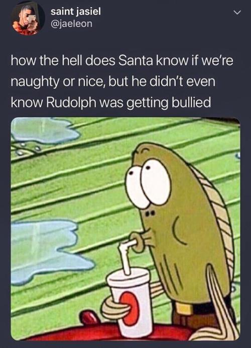 Santa Rudolf Bullied