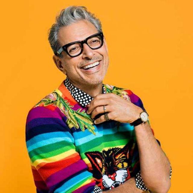 Jeff Goldblum Cool But Expensive Sweater